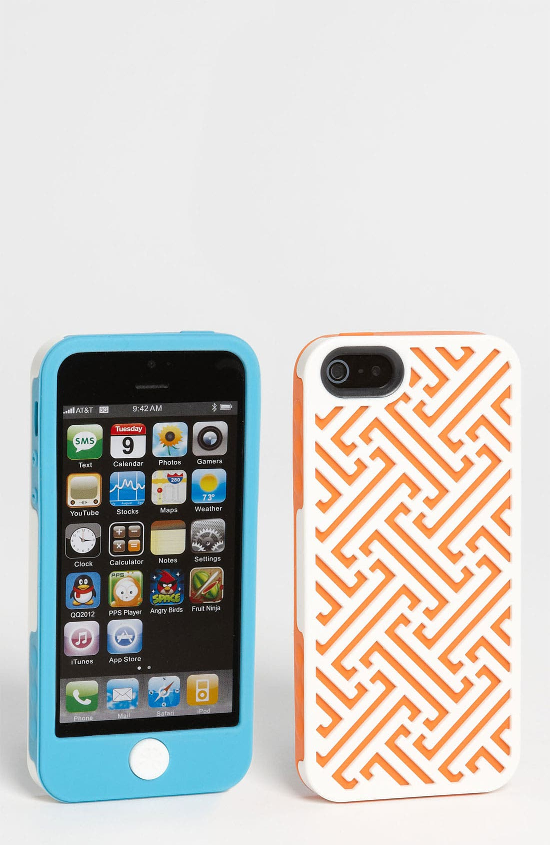 Main Image - Tech Candy 'Athens' iPhone 5 Silicone Case Set