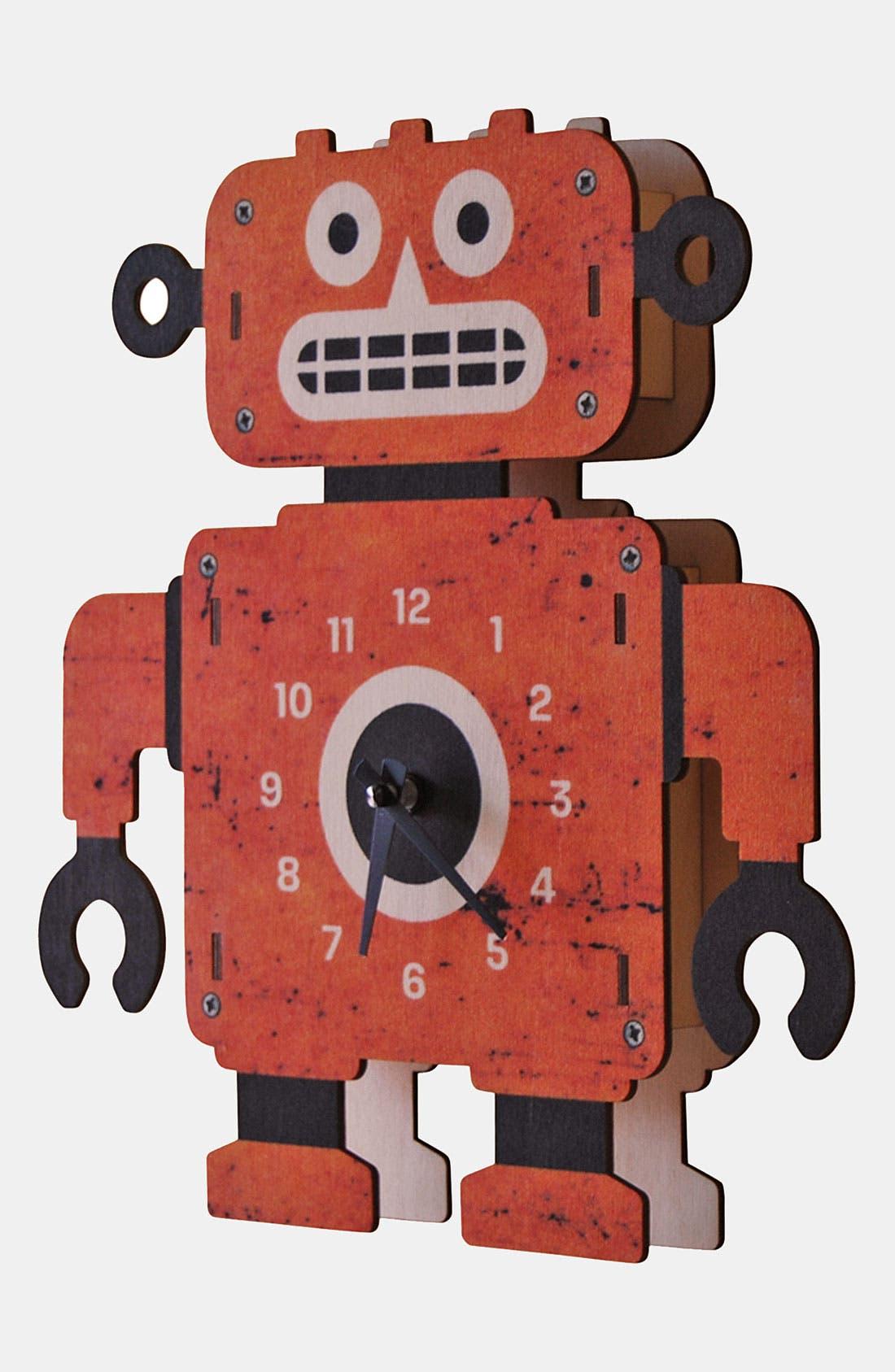 Alternate Image 2  - Modern Moose 'Clockbot' Clock