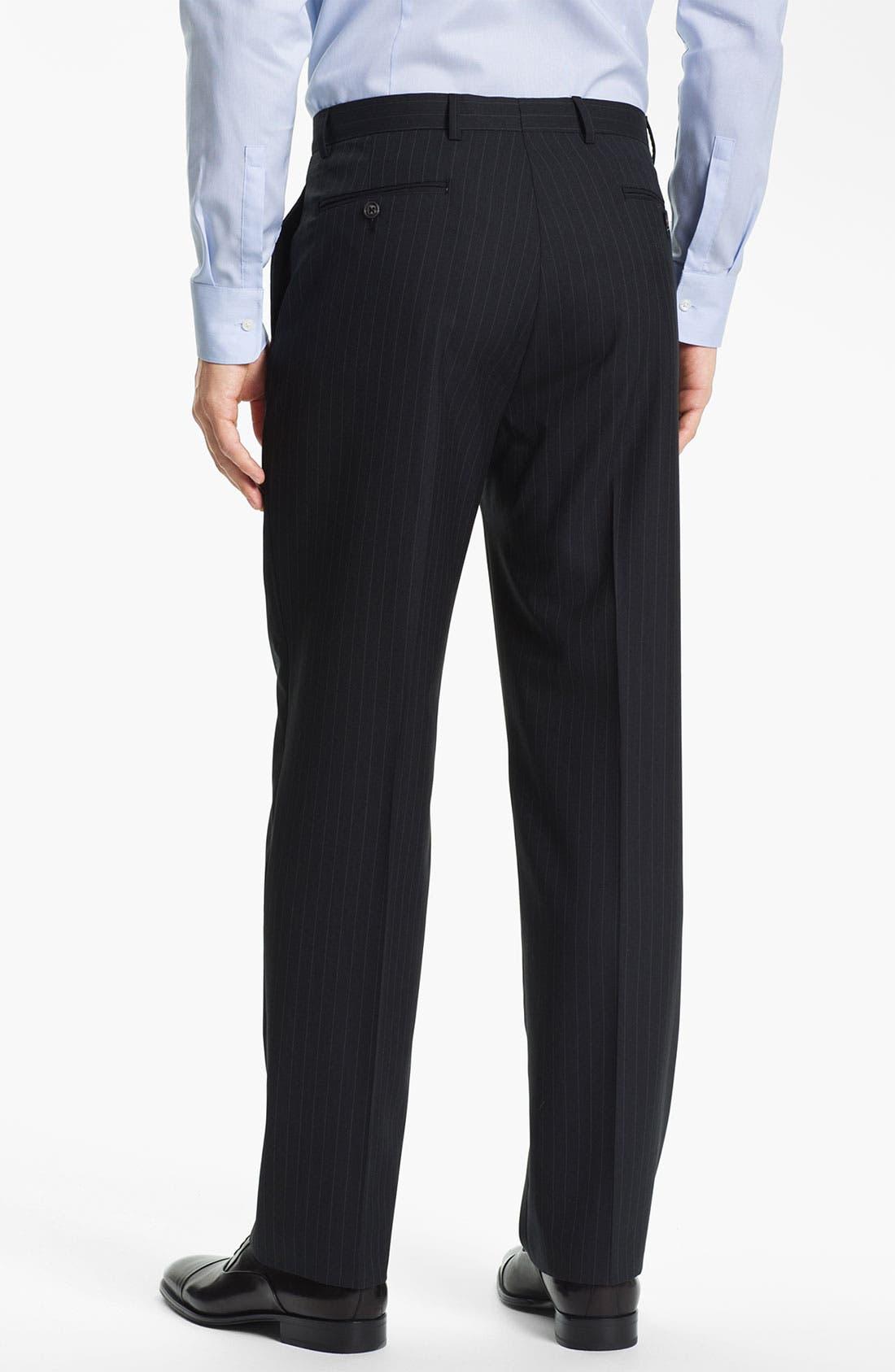 Alternate Image 5  - Joseph Abboud Stripe Suit