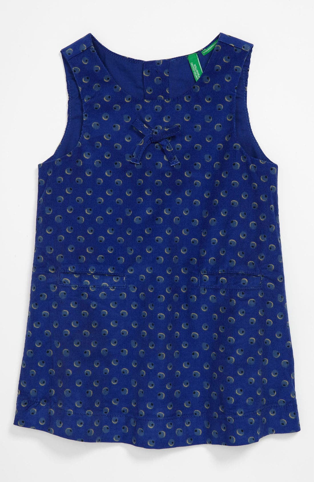 Main Image - United Colors of Benetton Kids Corduroy Dress (Toddler)