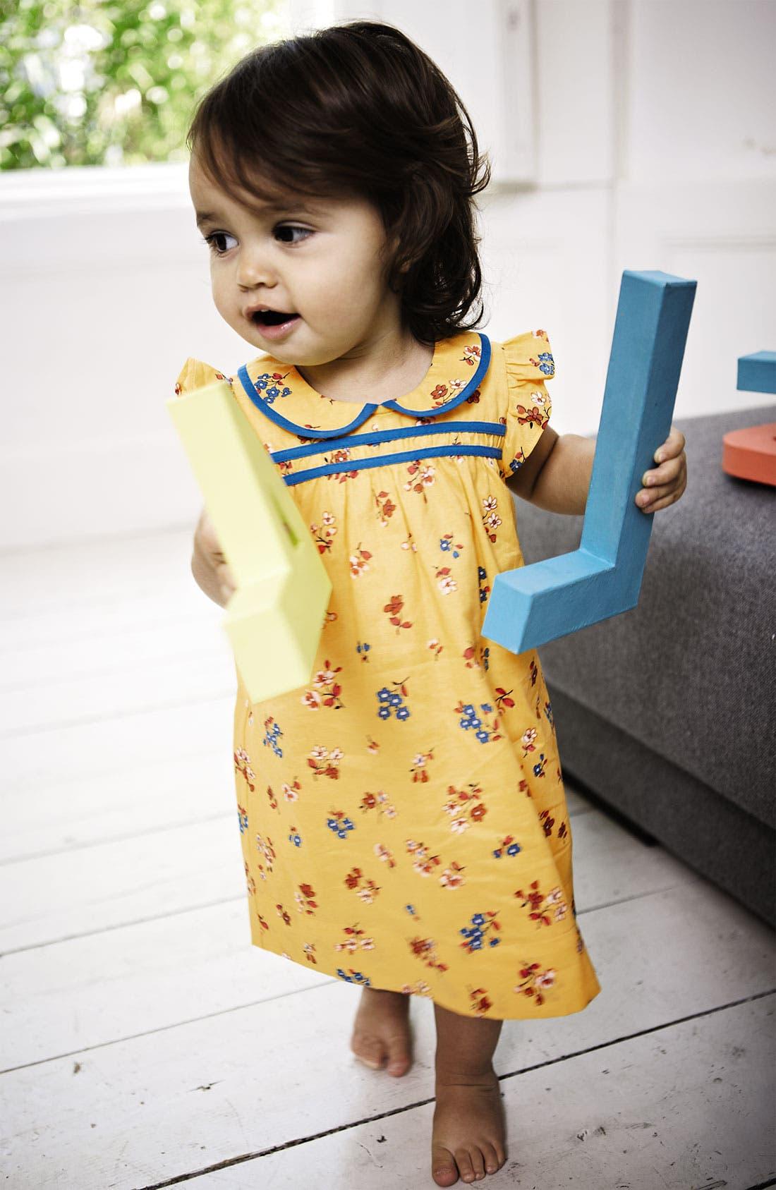 Alternate Image 2  - Mini Boden 'Pretty Tea' Dress & Bloomers (Infant)