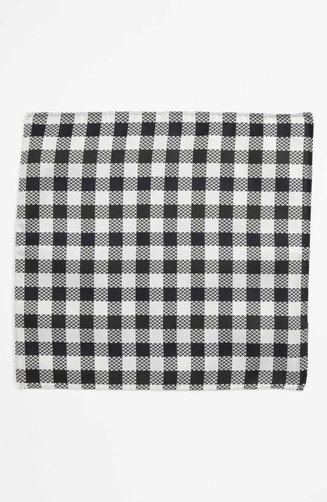 Alternate Image 2  - Duchamp Silk Pocket Square
