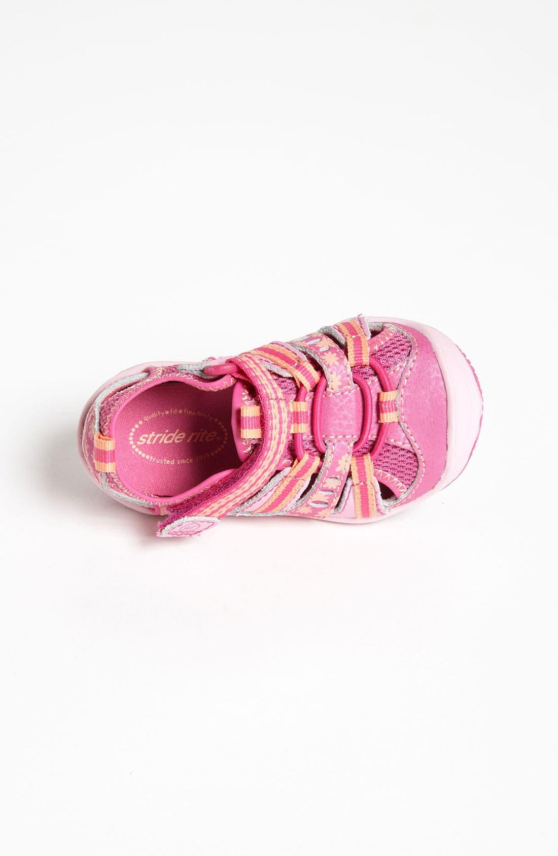 Alternate Image 3  - Stride Rite 'Baby Petra' Sandal (Baby, Walker & Toddler)