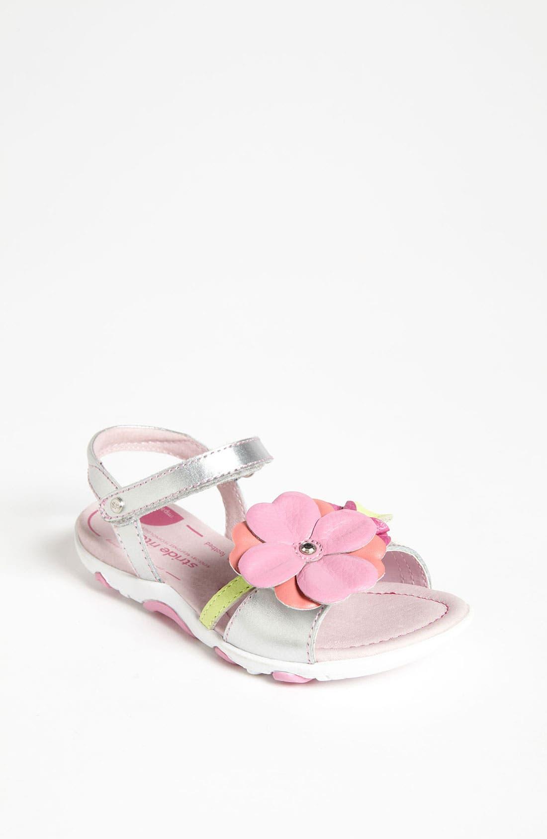 Alternate Image 1 Selected - Stride Rite 'Dixon' Sandal (Toddler)