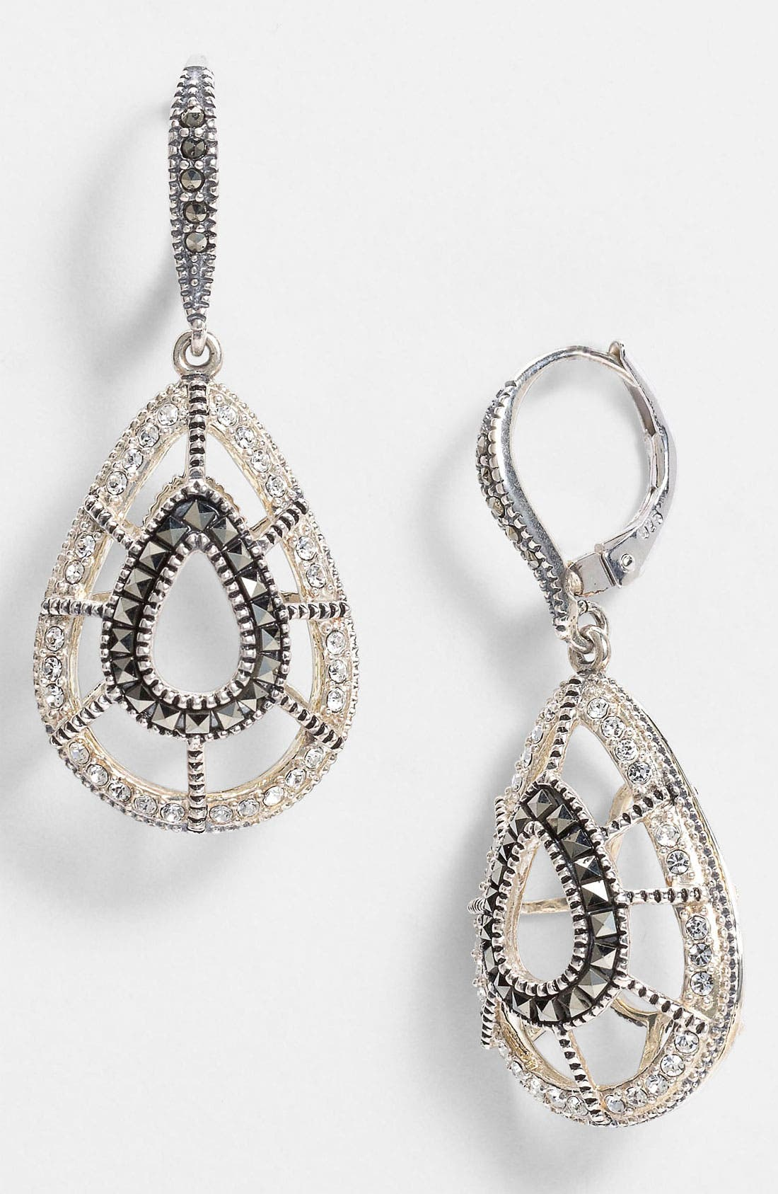 Main Image - Judith Jack 'Caged In' Teardrop Earrings