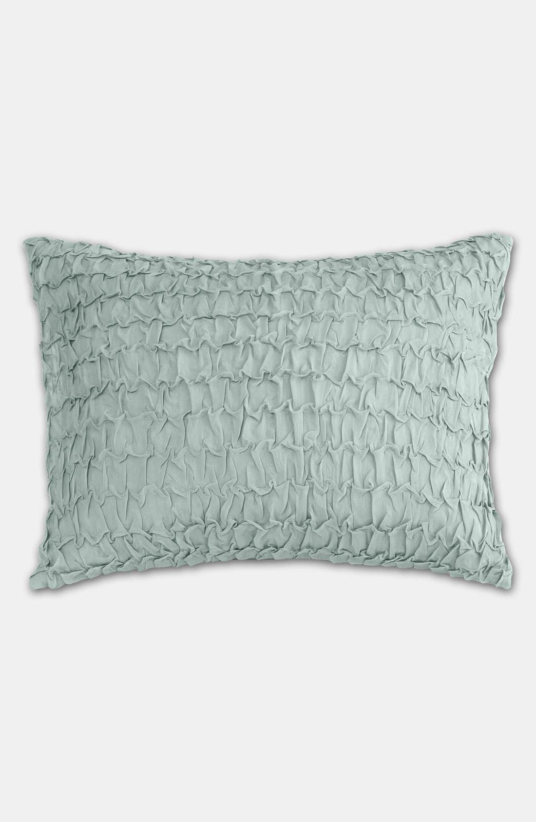 Alternate Image 1 Selected - Donna Karan Textured Silk Pillow
