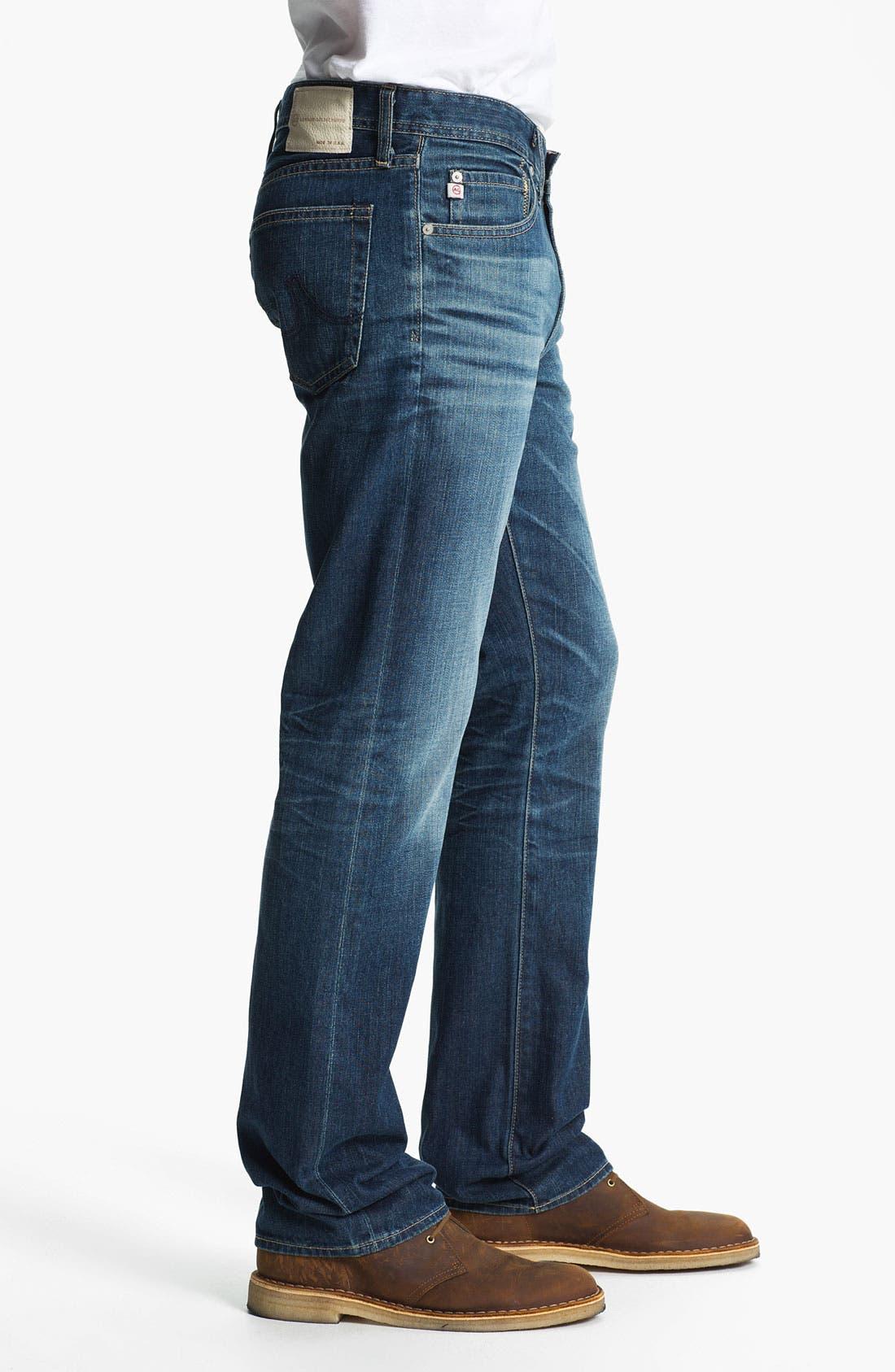 Alternate Image 3  - AG Jeans 'Protégé' Straight Leg Jeans (Thirteen Year Smooth)