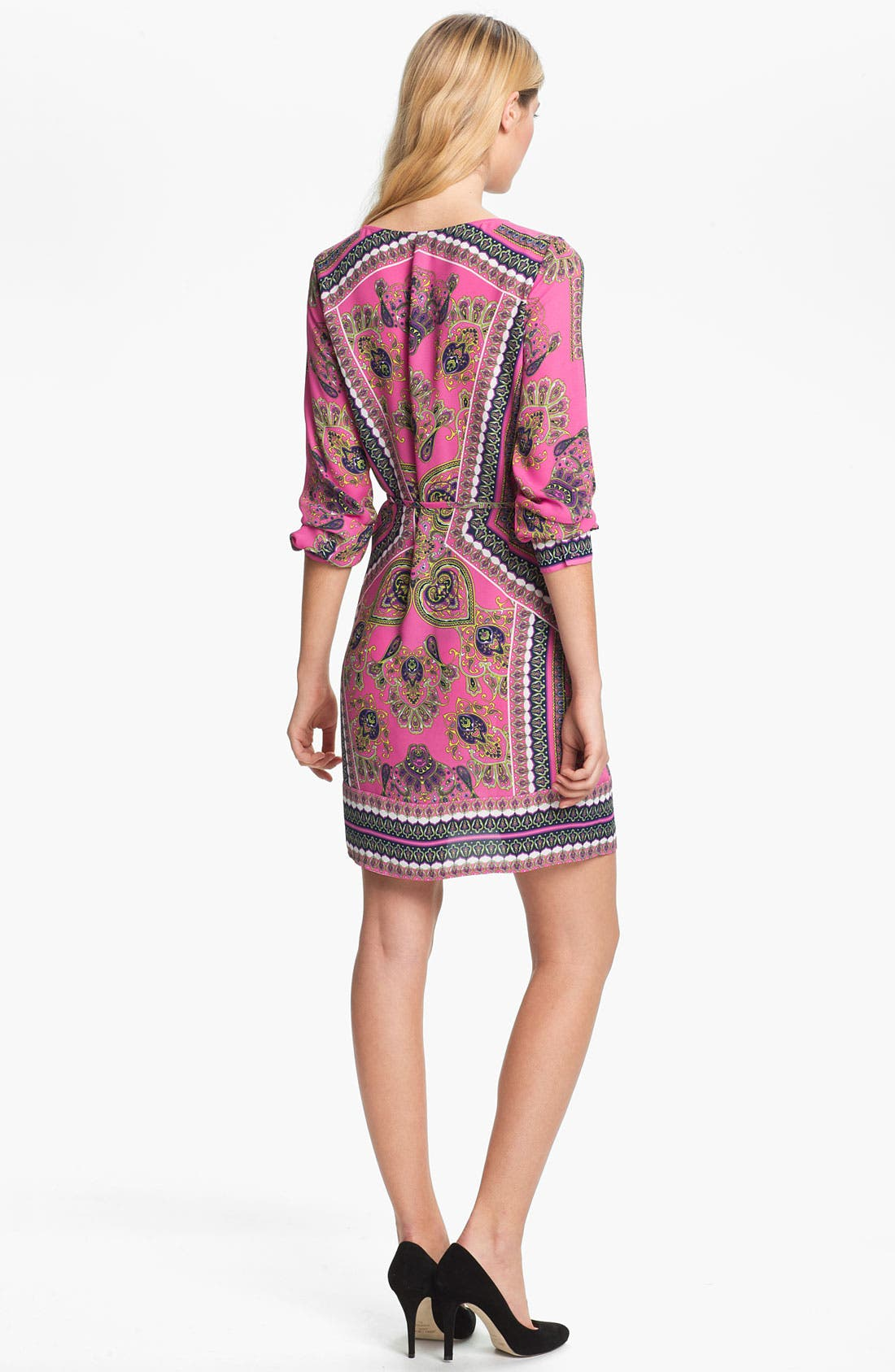 Alternate Image 2  - BCBGMAXAZRIA 'Freya' Woven Shift Dress