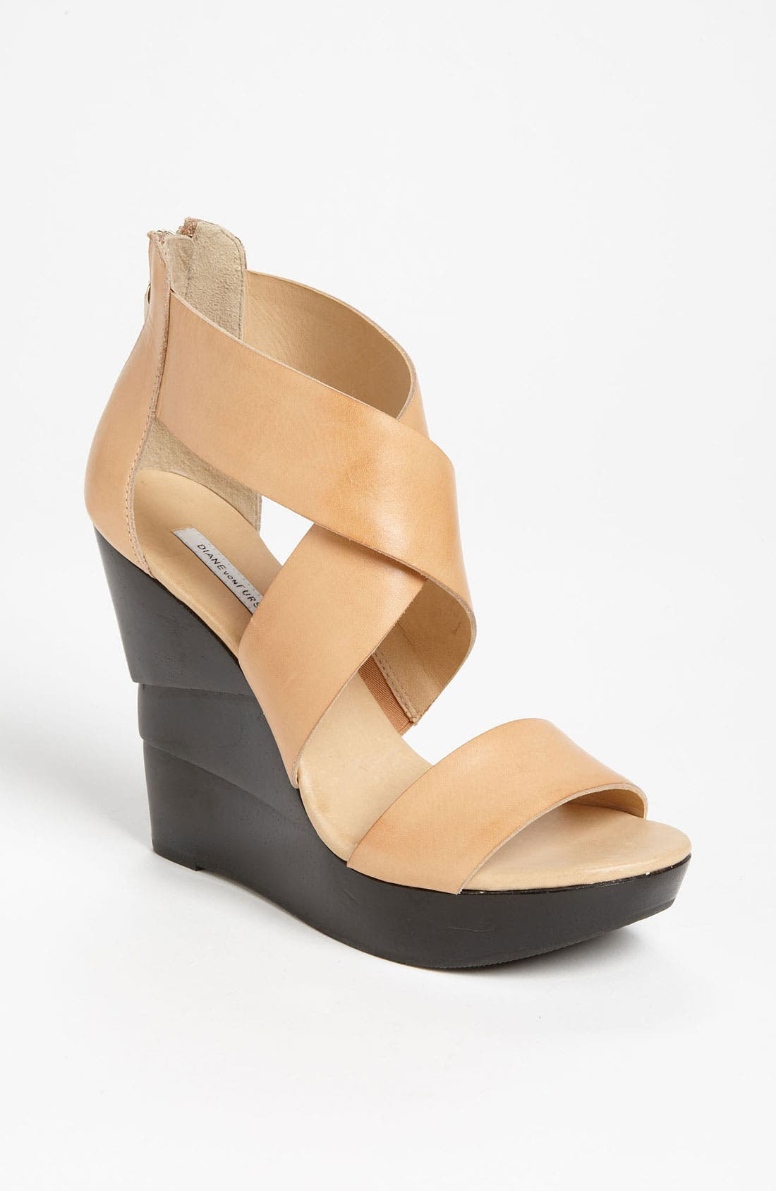 Alternate Image 1 Selected - Diane von Furstenberg 'Opal' Wedge Sandal