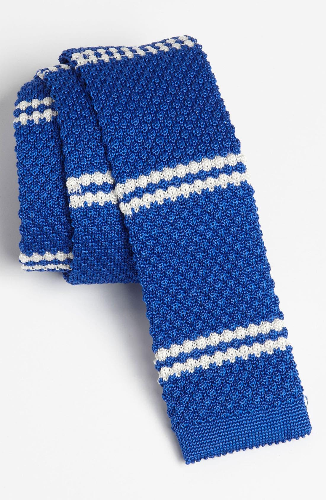 Alternate Image 1 Selected - Gitman Knit Silk Tie (Online Only)