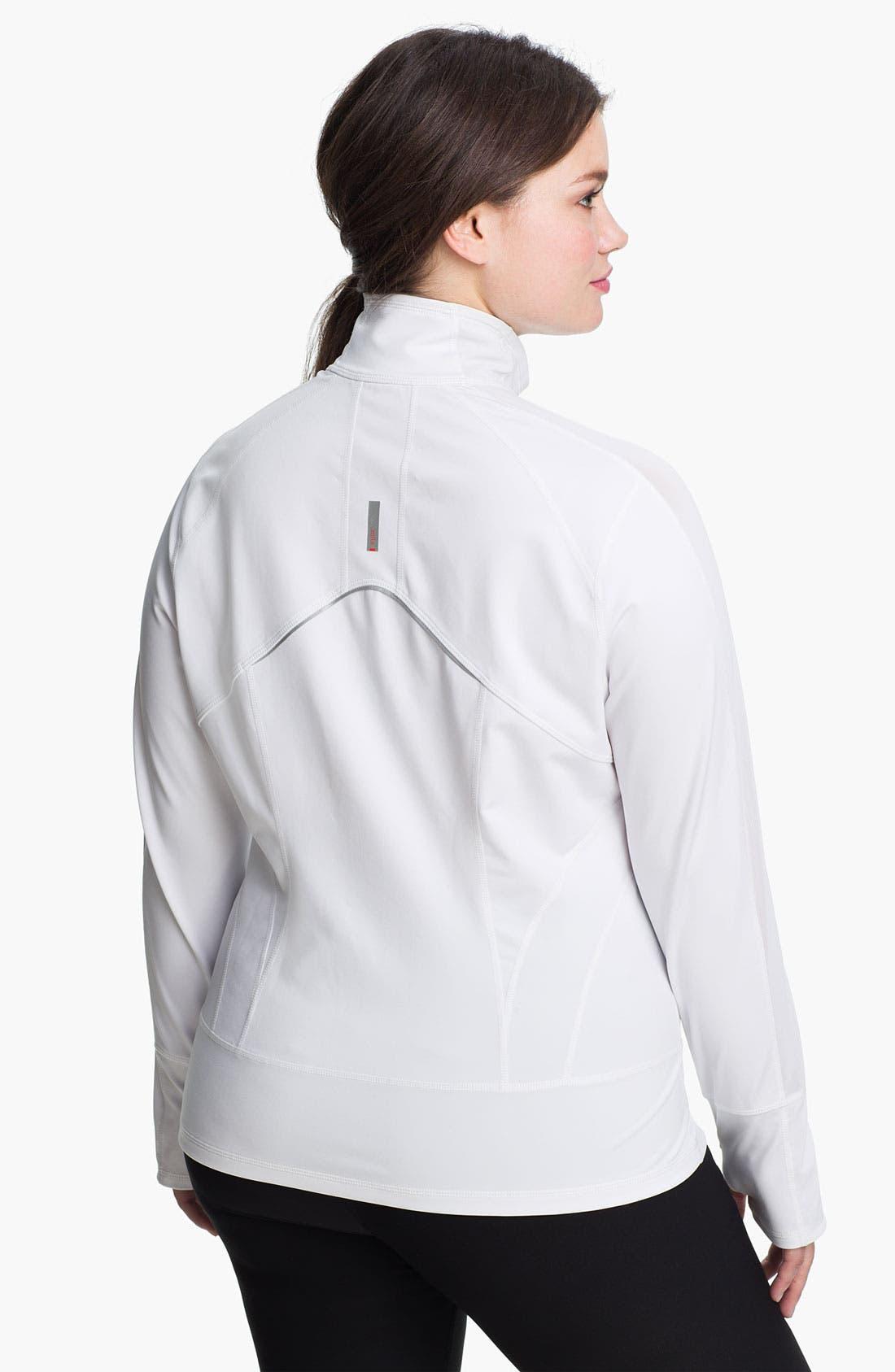 Alternate Image 2  - Zella 'Streamline' Jacket (Plus Size)