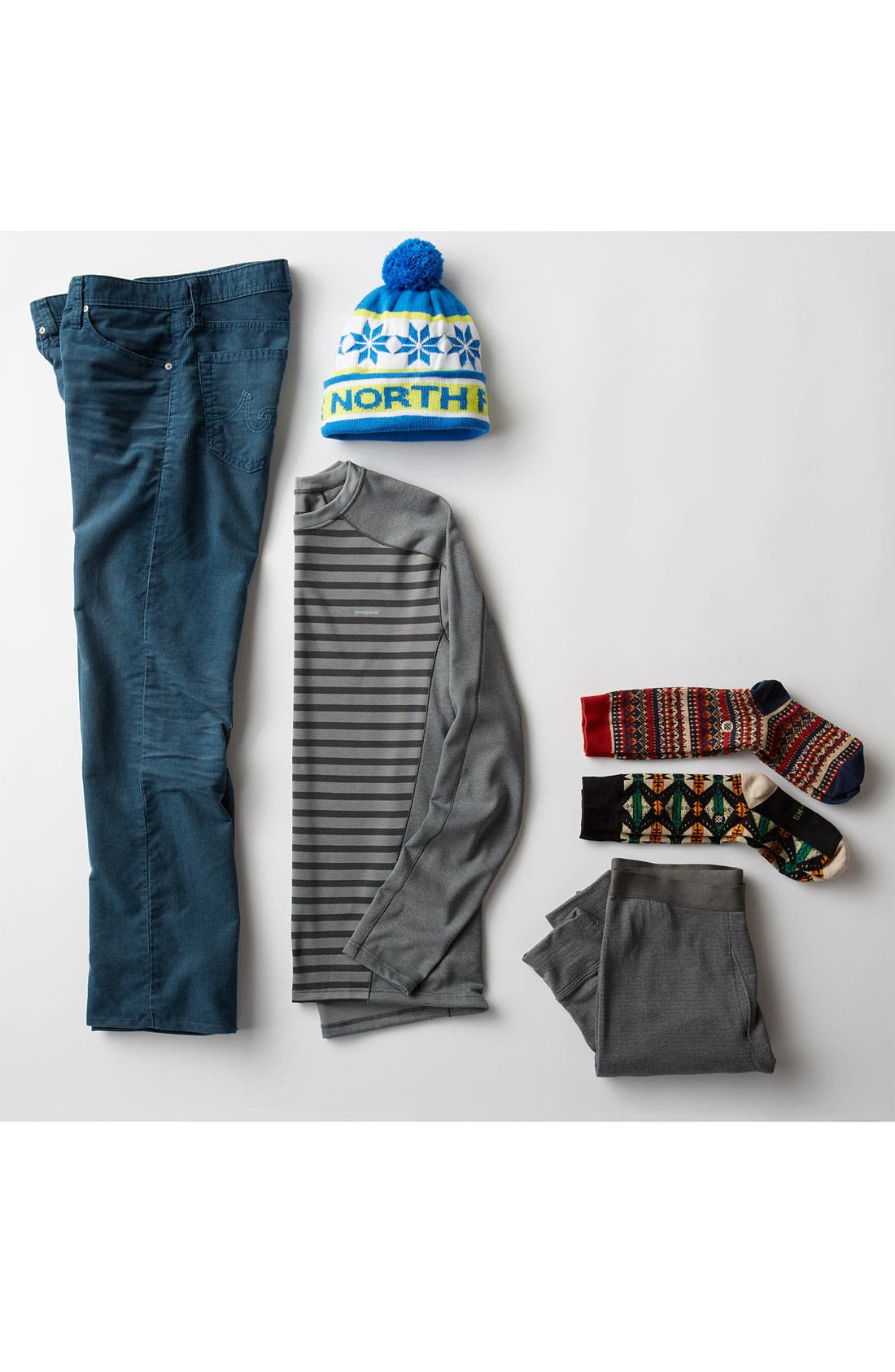 Alternate Image 5  - Patagonia 'Capilene® 4' Expedition Weight Base Layer Pants (Online Only)