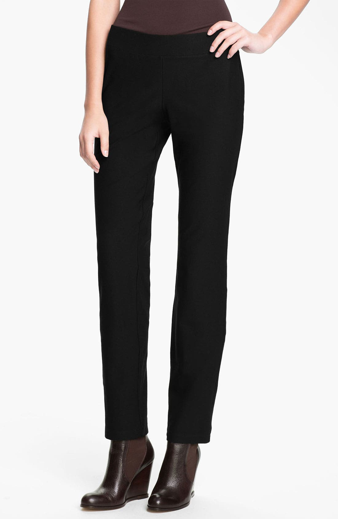 Alternate Image 1 Selected - Eileen Fisher Slim Pants