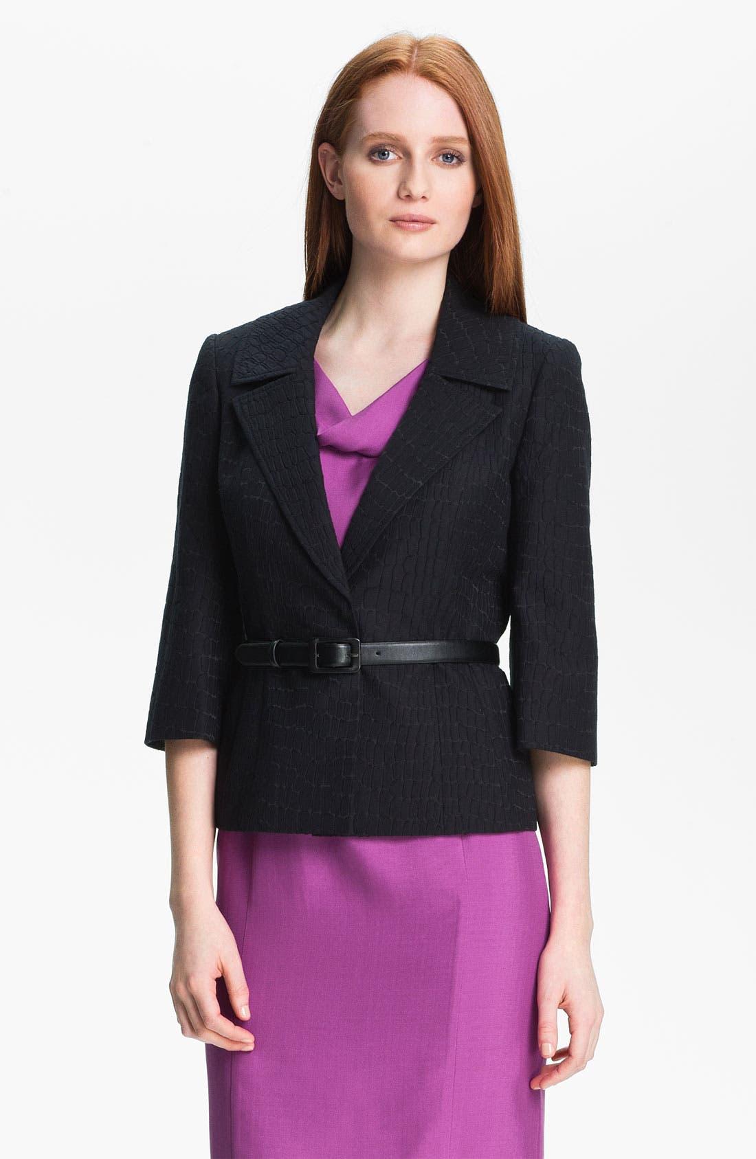 Main Image - Classiques Entier® 'Dahlia Jacquard' Jacket