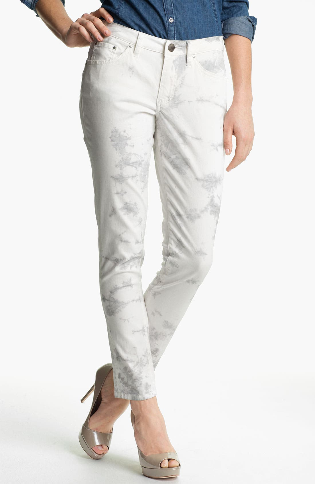 Main Image - Jag Jeans 'Chloe - Tie Dye' Skinny Jeans