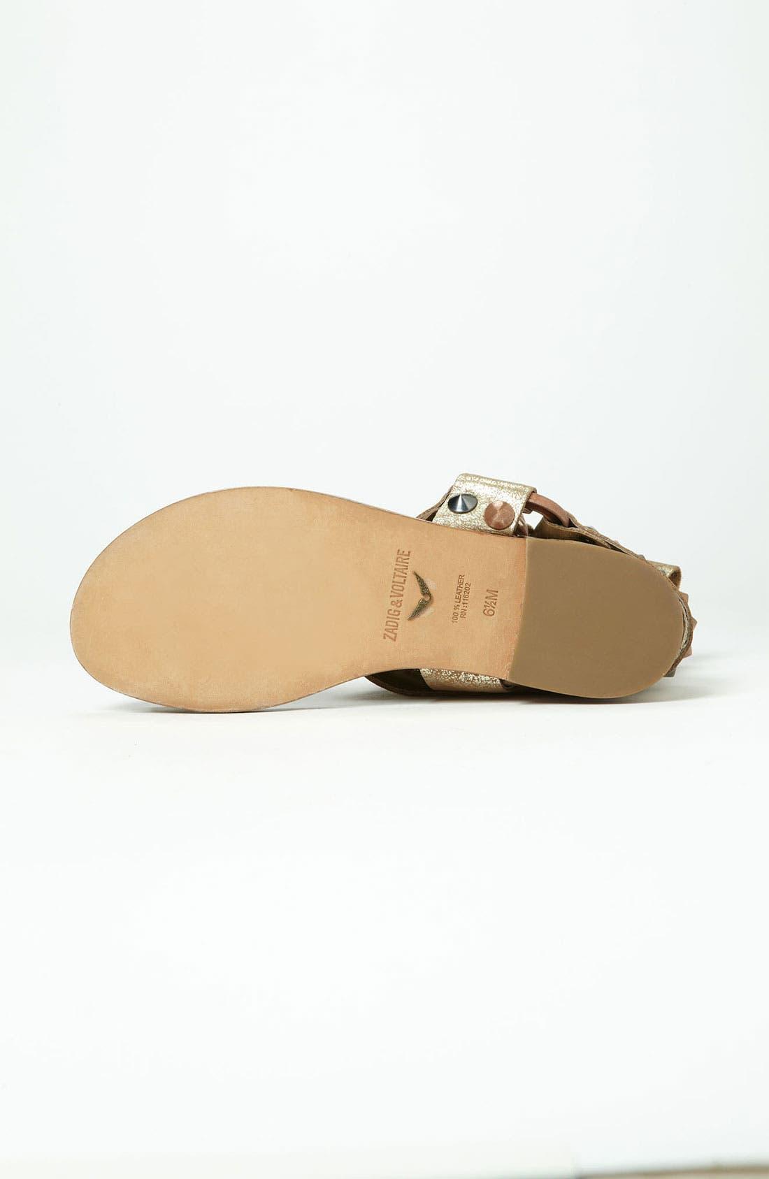 Alternate Image 4  - Zadig & Voltaire 'Paige' Sandal