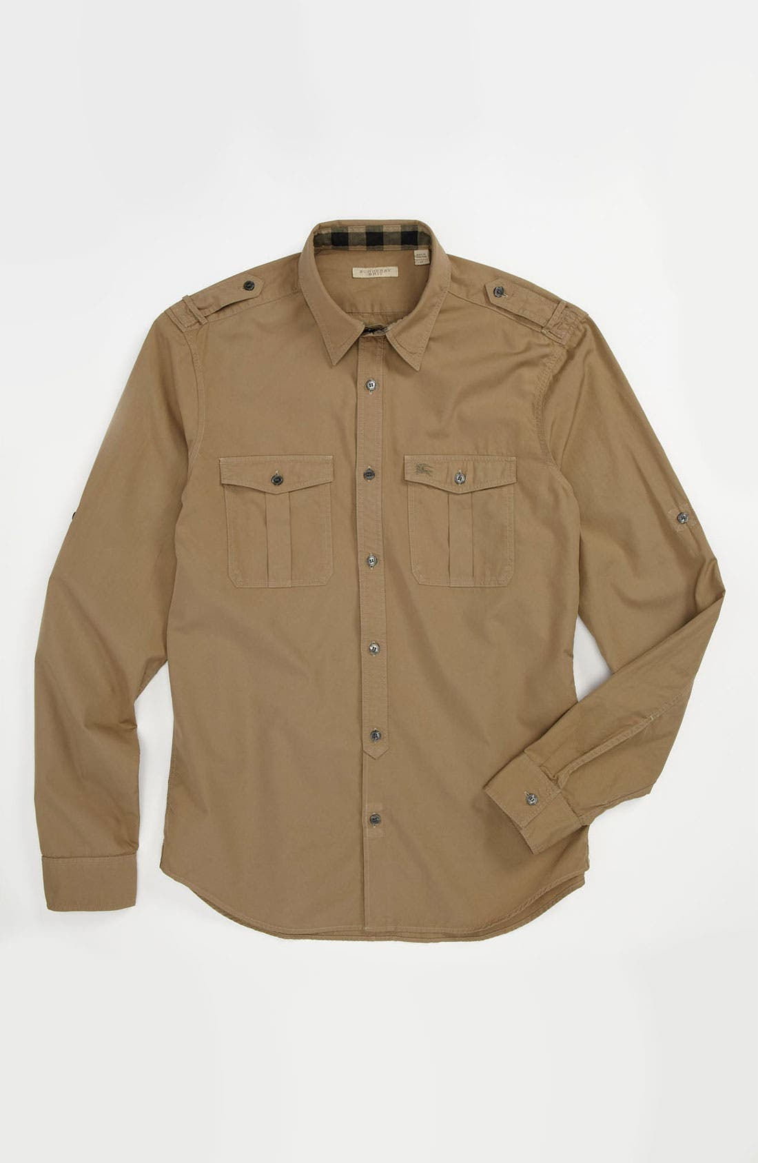 Alternate Image 4  - Burberry Brit 'Keeling' Trim Fit Cotton Sport Shirt