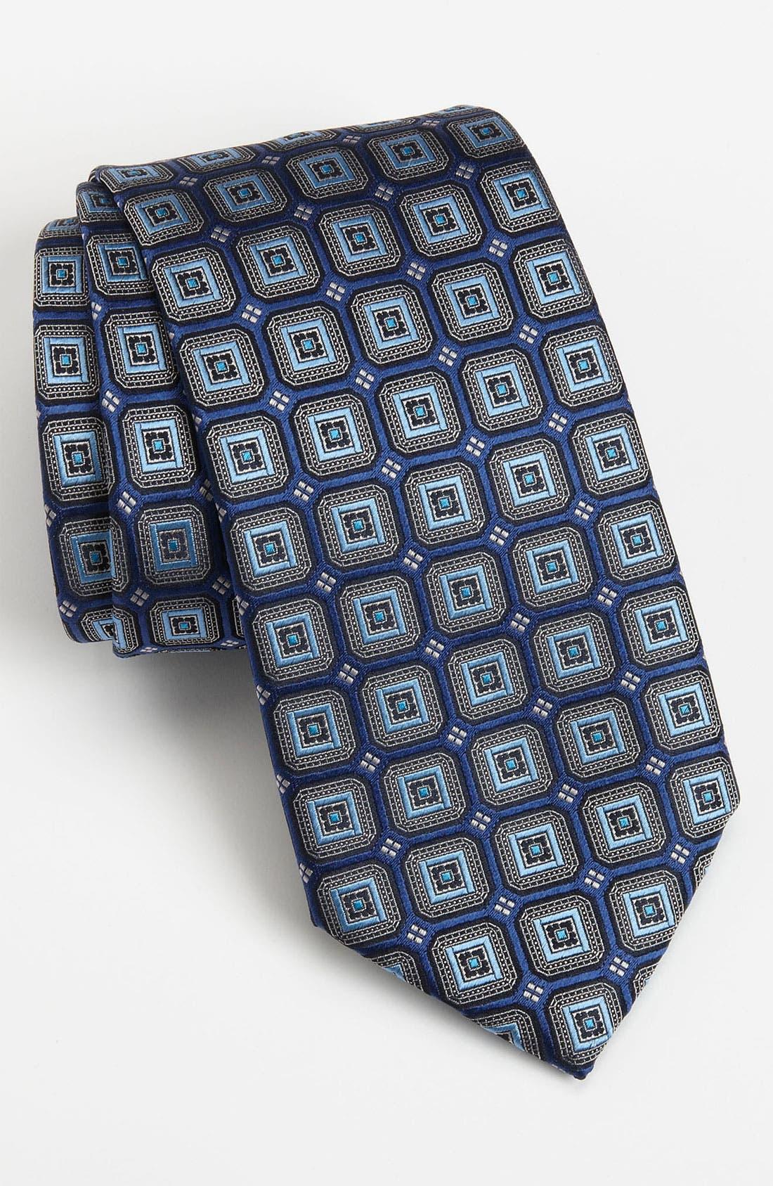 Alternate Image 1 Selected - Ermenegildo Zegna Woven Silk Tie