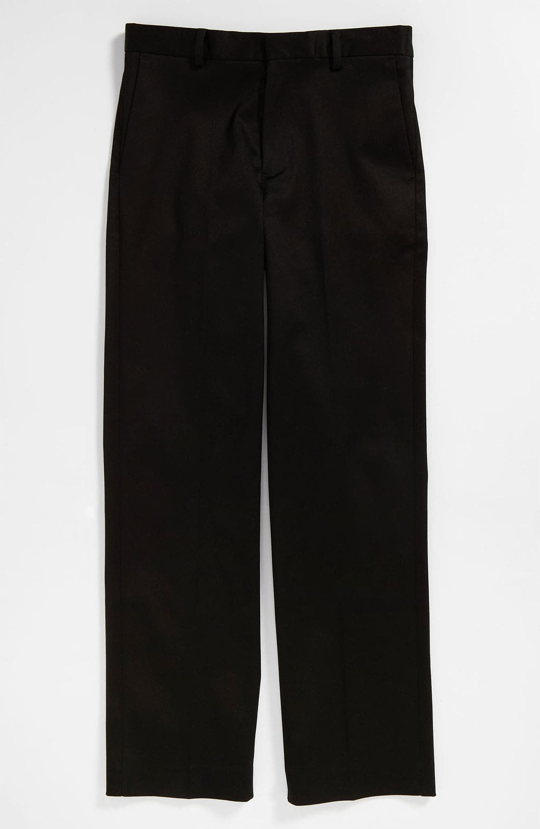 Alternate Image 1 Selected - C2 by Calibrate Flat Front Sateen Pants (Big Boys)