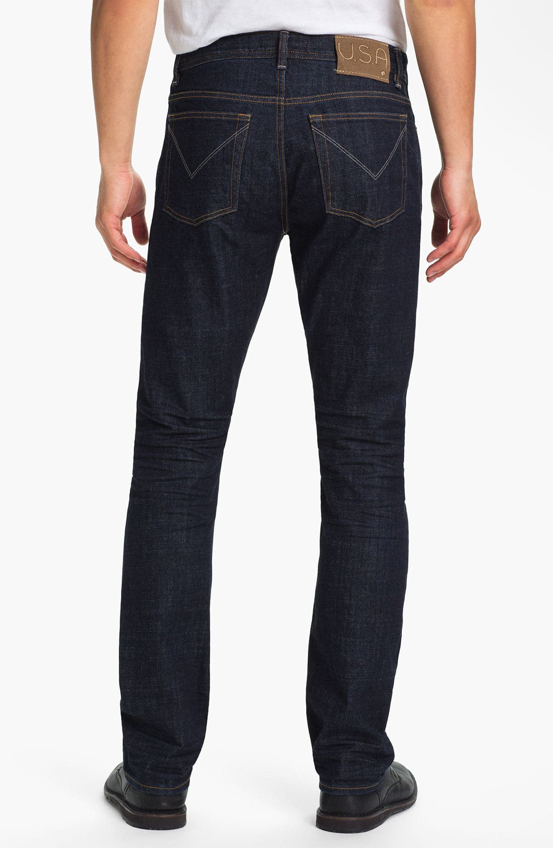 Alternate Image 2  - John Varvatos Star USA Straight Leg Jeans (Indigo)