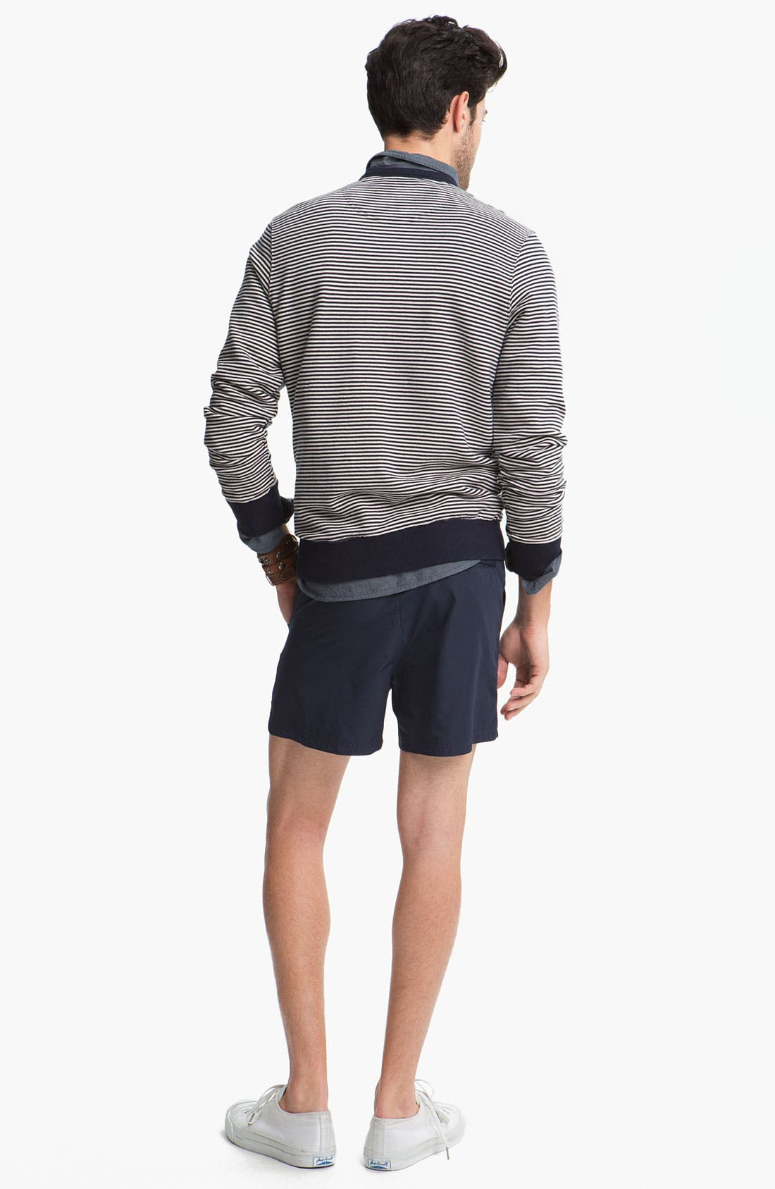 Alternate Image 3  - Fred Perry Sweater & Shorts