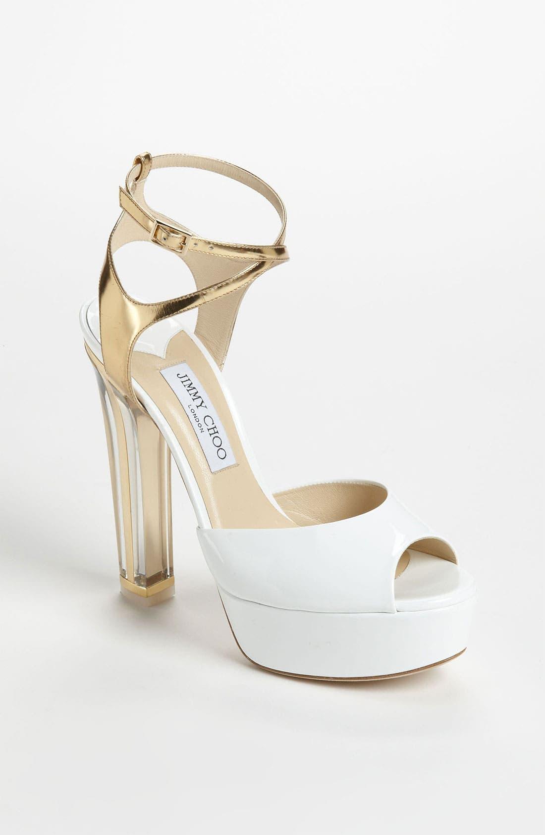 Alternate Image 1 Selected - Jimmy Choo 'Lolita' Platform Sandal