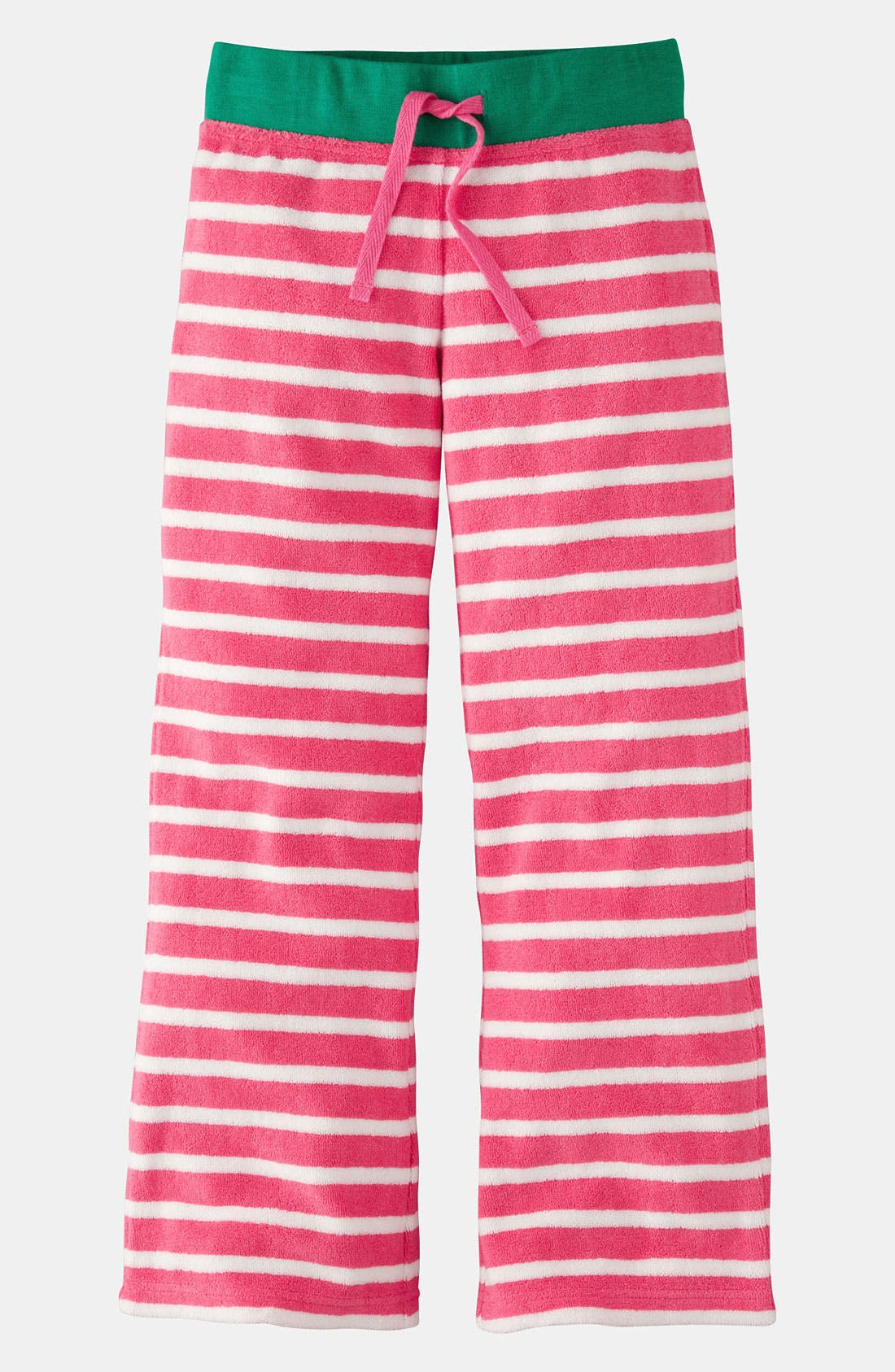 Alternate Image 1 Selected - Mini Boden 'Toweling' Pants (Little Girls & Big Girls)