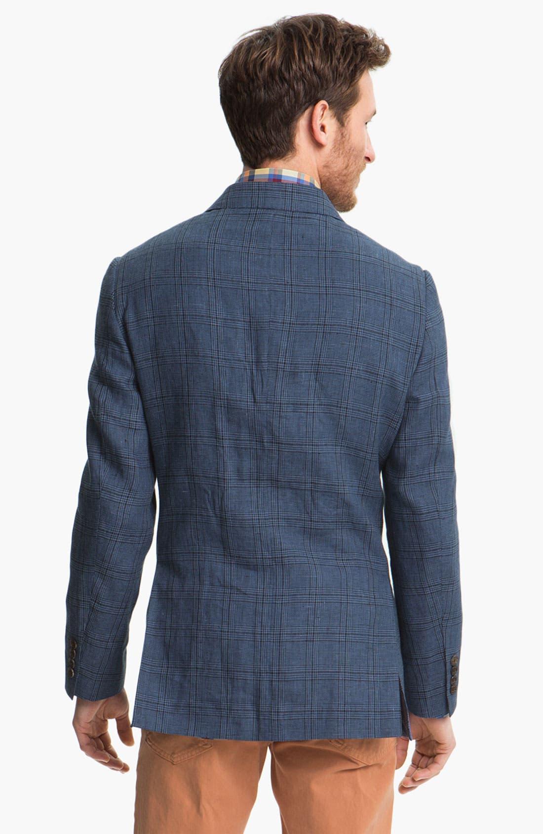 Alternate Image 4  - Robert Talbott Linen Sportcoat