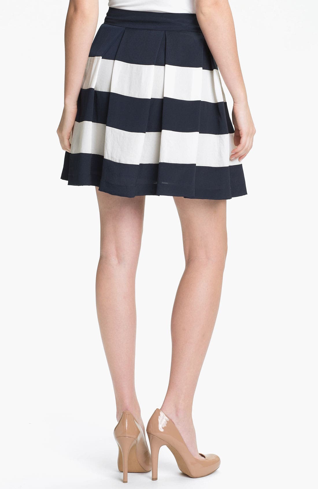 Alternate Image 2  - Collective Concepts Stripe Skirt