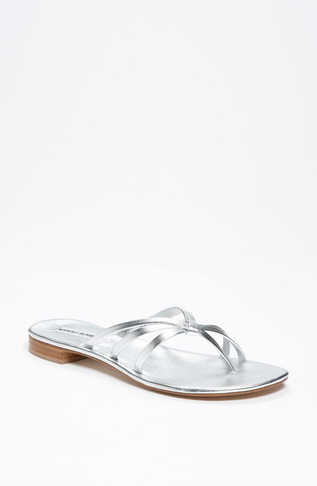 Alternate Image 1 Selected - Manolo Blahnik 'Winddoka' Sandal