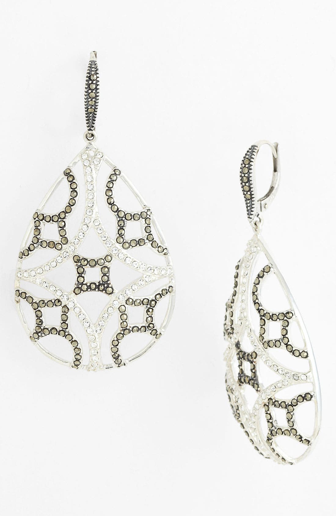 Main Image - Judith Jack 'Turq Matrix' Teardrop Earrings