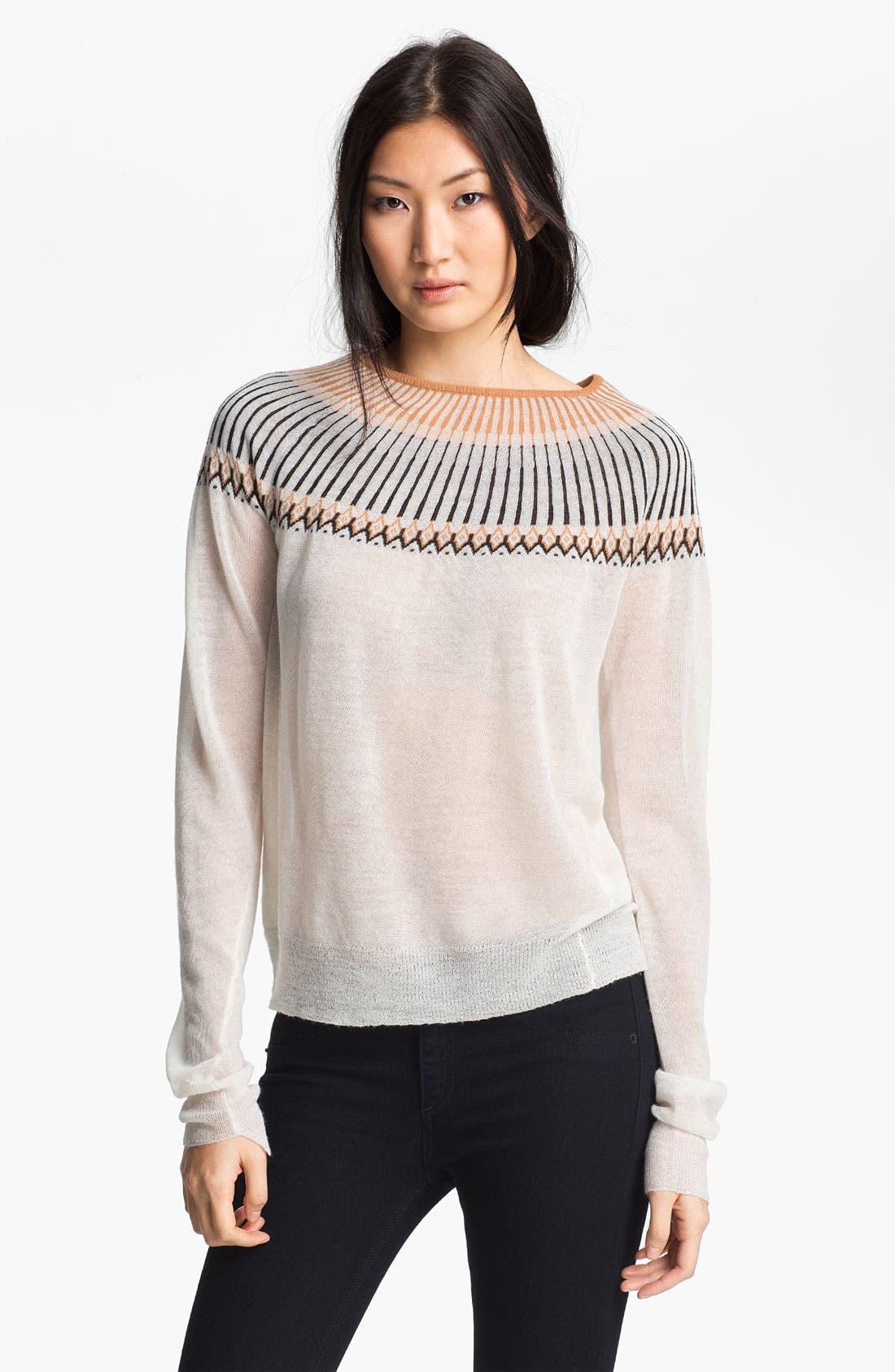Alternate Image 1 Selected - A.L.C. 'Franco' Crewneck Sweater