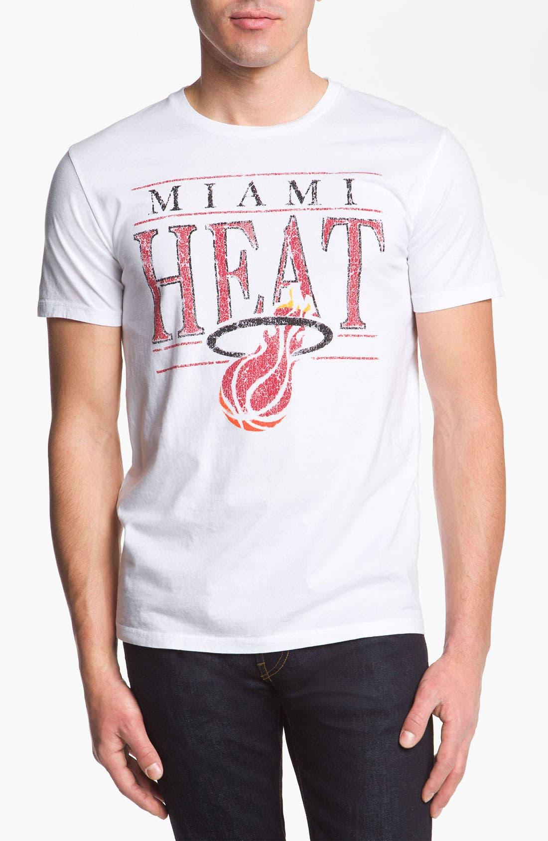 Alternate Image 1 Selected - Junk Food 'Miami Heat' T-Shirt