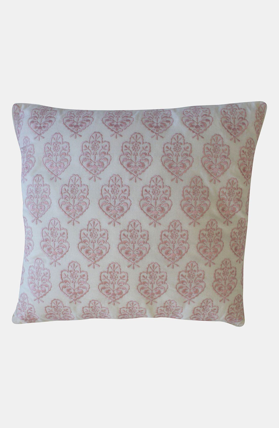 Alternate Image 1 Selected - Dena Home 'Annabelle' Embroidered Pillow