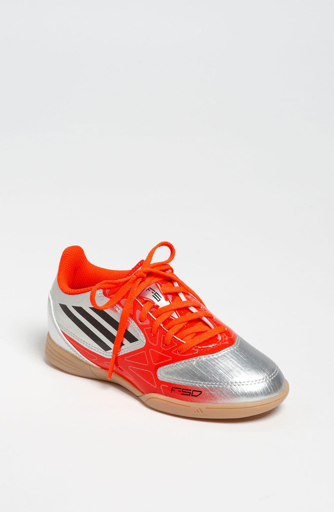 Alternate Image 1 Selected - adidas 'F10' Soccer Sneaker (Toddler, Little Kid & Big Kid)