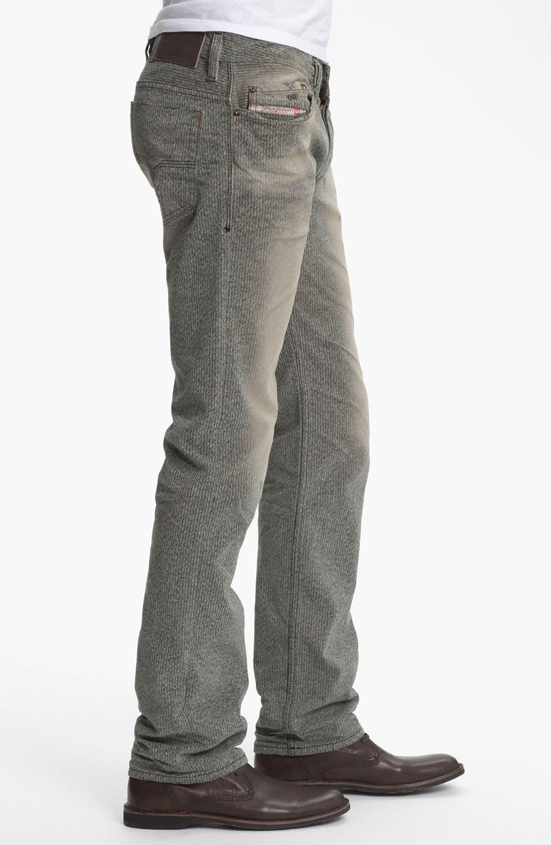 Alternate Image 3  - DIESEL® 'Safado' Straight Leg Jeans (0807M)