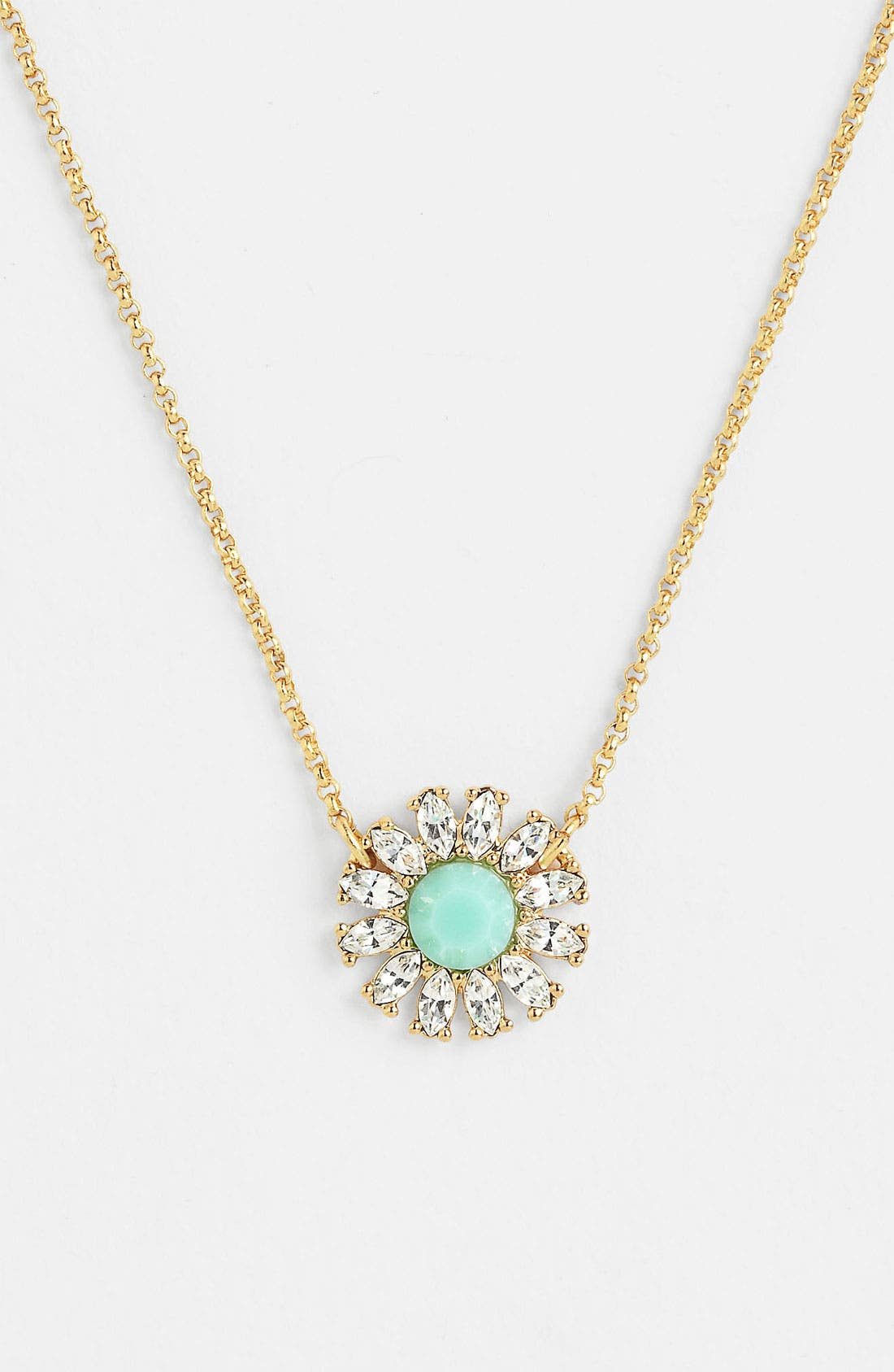 Alternate Image 1 Selected - kate spade new york 'estate garden' pendant necklace
