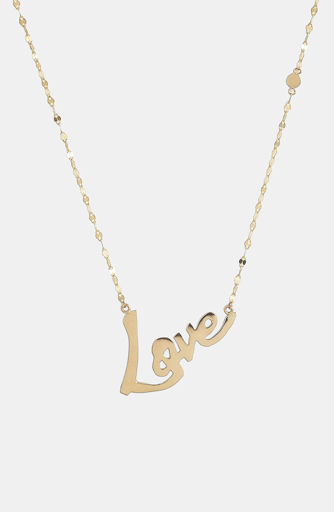 Alternate Image 2  - Lana Jewelry 'Love' Charm Necklace
