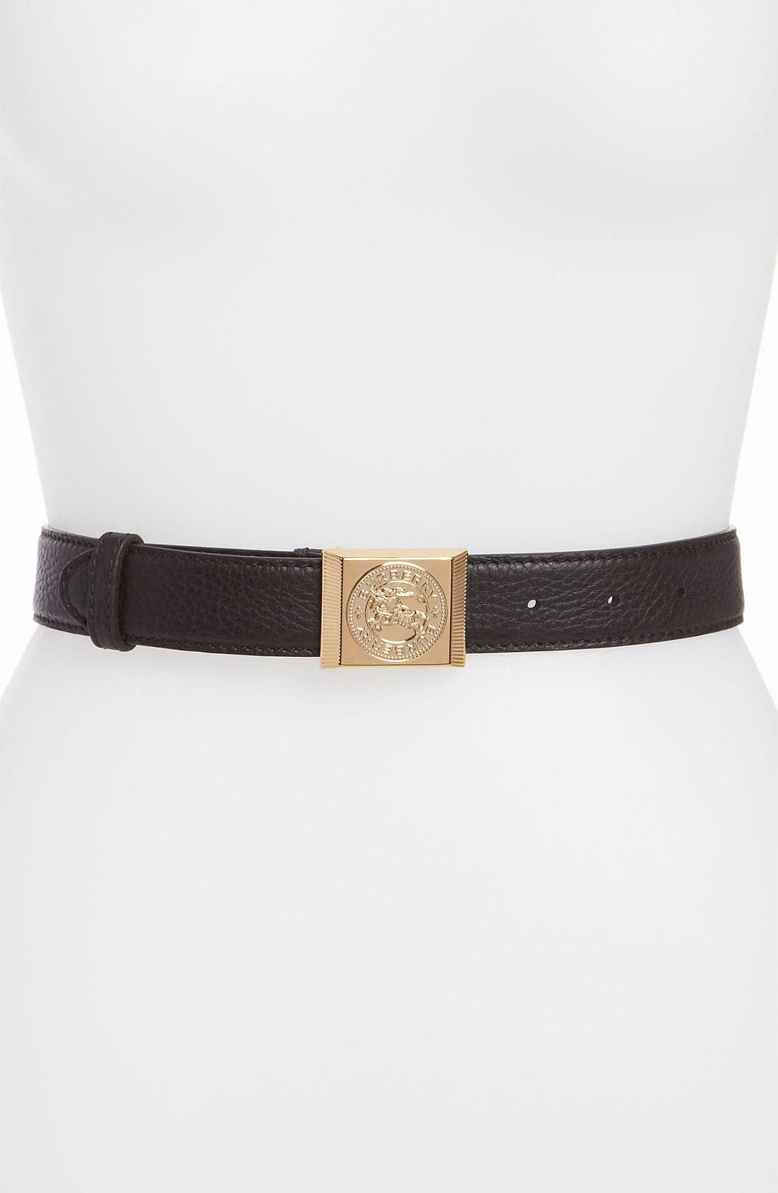 Alternate Image 1 Selected - Burberry 'Brimley' Leather Belt