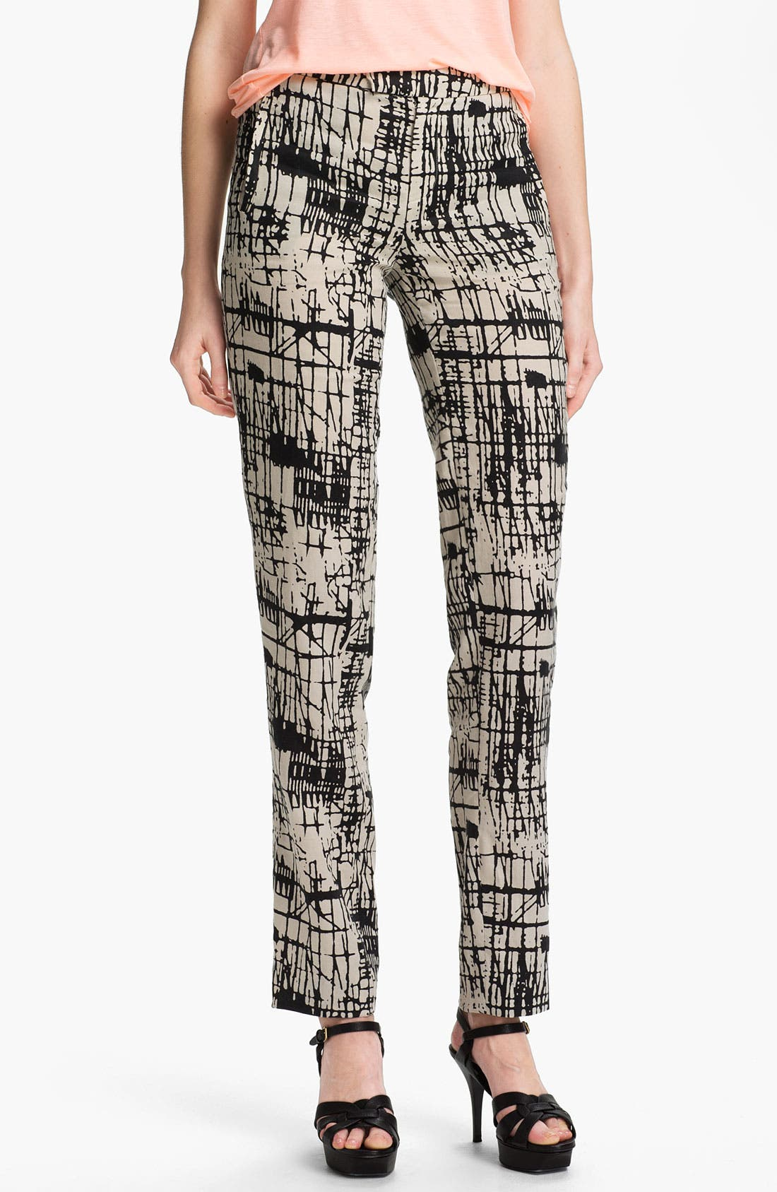 Alternate Image 1 Selected - J Brand Ready-to-Wear 'Rosemary' Print Trousers