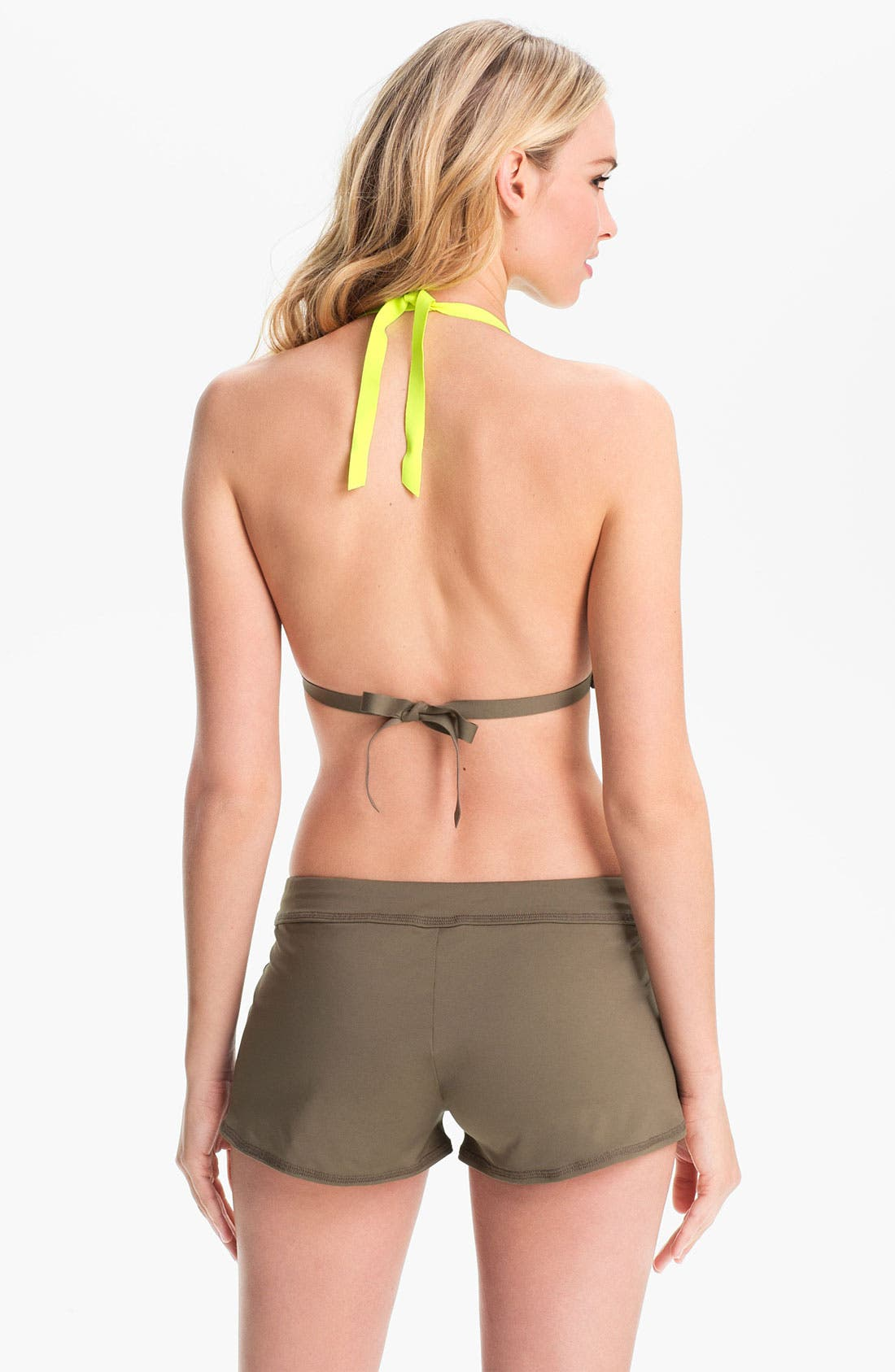 Alternate Image 4  - Nike 'Bondi' Halter Bikini Top