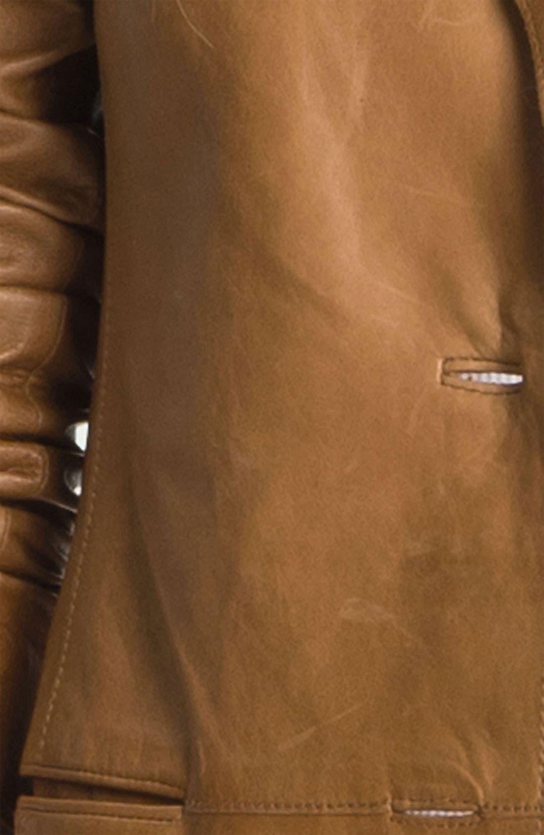 Alternate Image 3  - Vince Leather Blazer