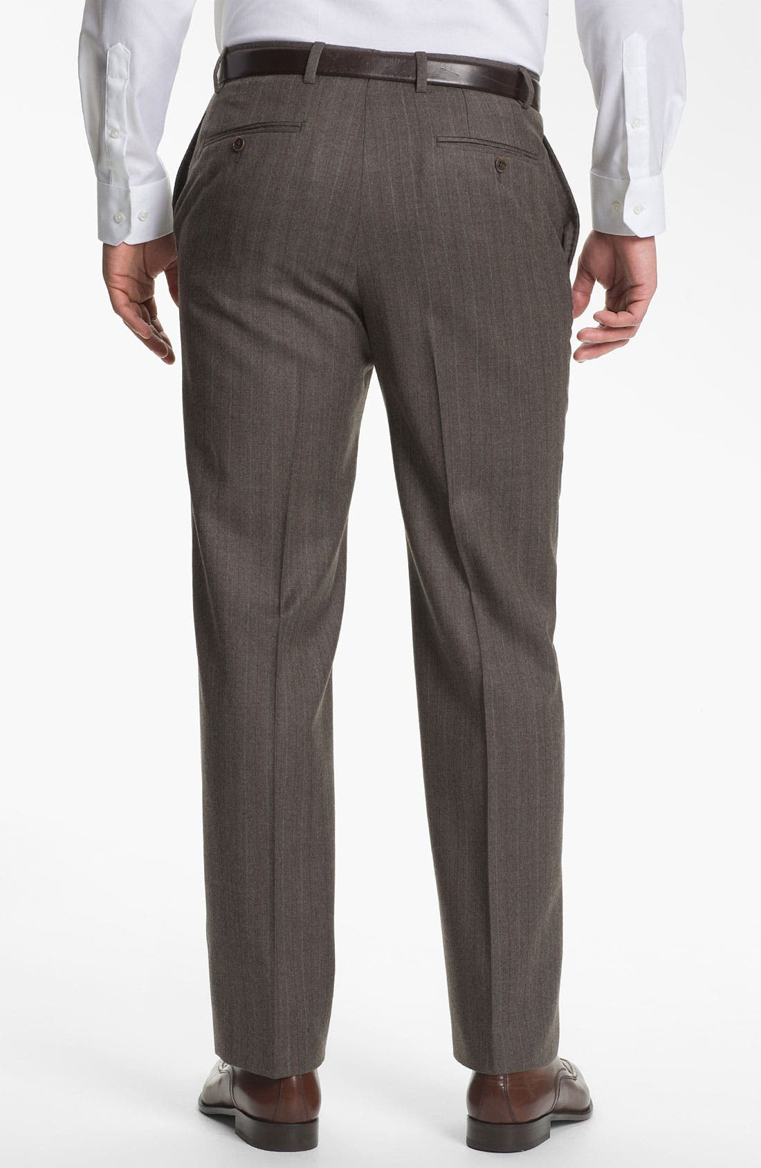 Alternate Image 5  - Joseph Abboud 'Profile' Trim Fit Stripe Suit
