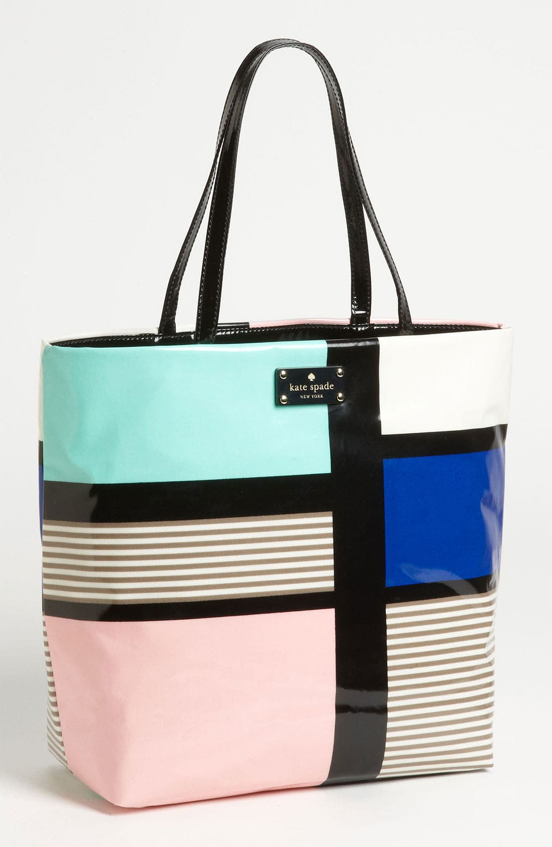 Main Image - kate spade new york 'daycation' coated canvas bon shopper