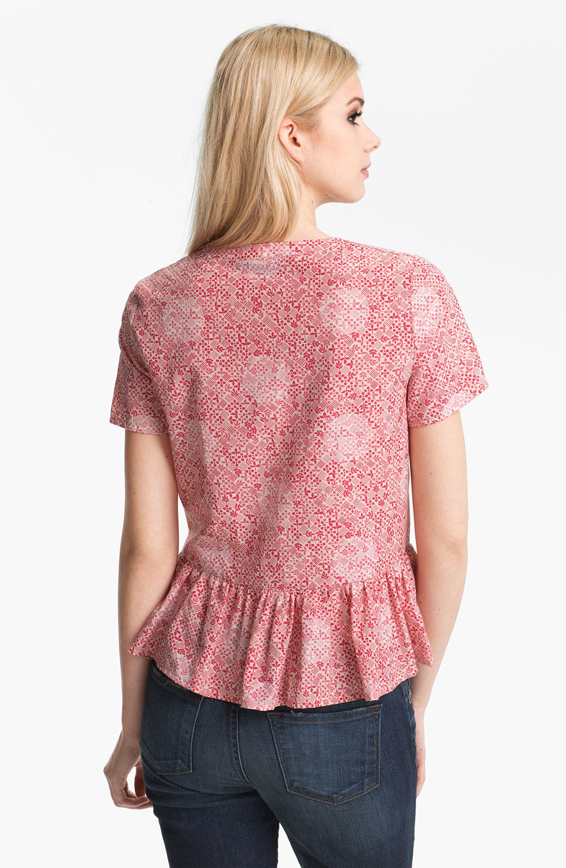 Alternate Image 2  - MARC BY MARC JACOBS 'Jamie' Vintage Print Peplum Top