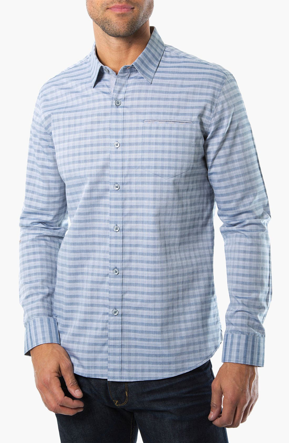 Alternate Image 1 Selected - 7 Diamonds 'Good Life' Woven Sport Shirt