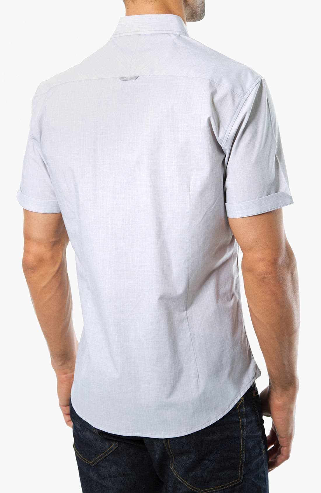 Alternate Image 2  - 7 Diamonds 'The Dreadlock Holiday' Woven Sport Shirt