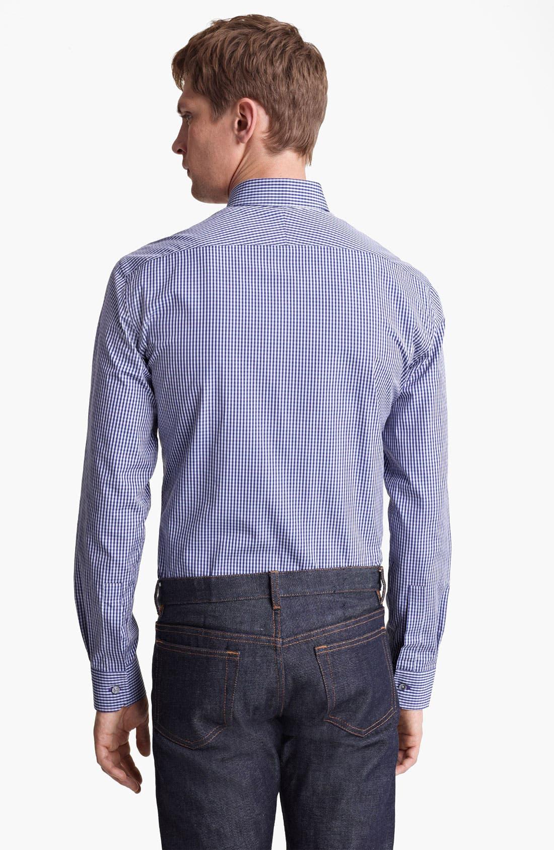 Alternate Image 2  - Paul Smith London Micro Gingham Shirt