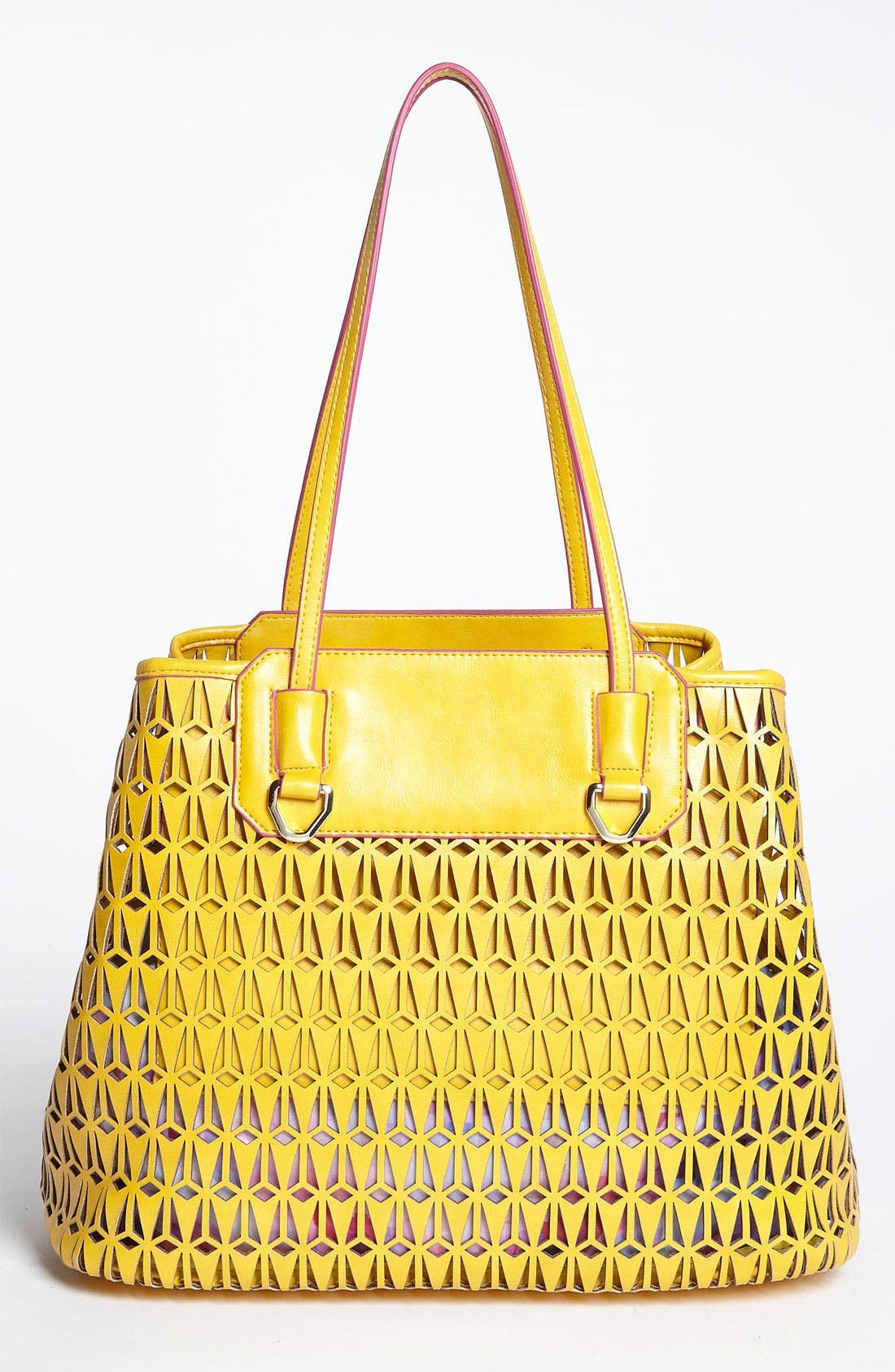 Alternate Image 4  - Sam Edelman 'Marina' Perforated Tote