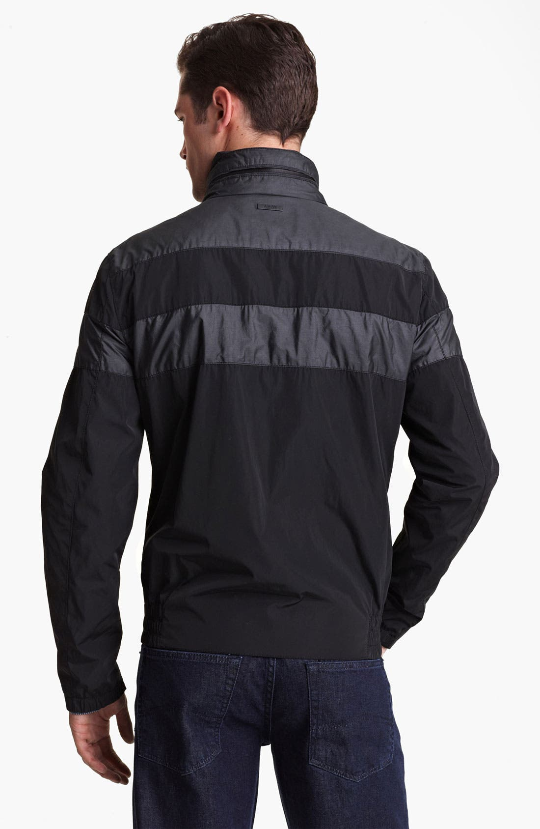 Alternate Image 2  - Armani Collezioni Water Repellent Jacket